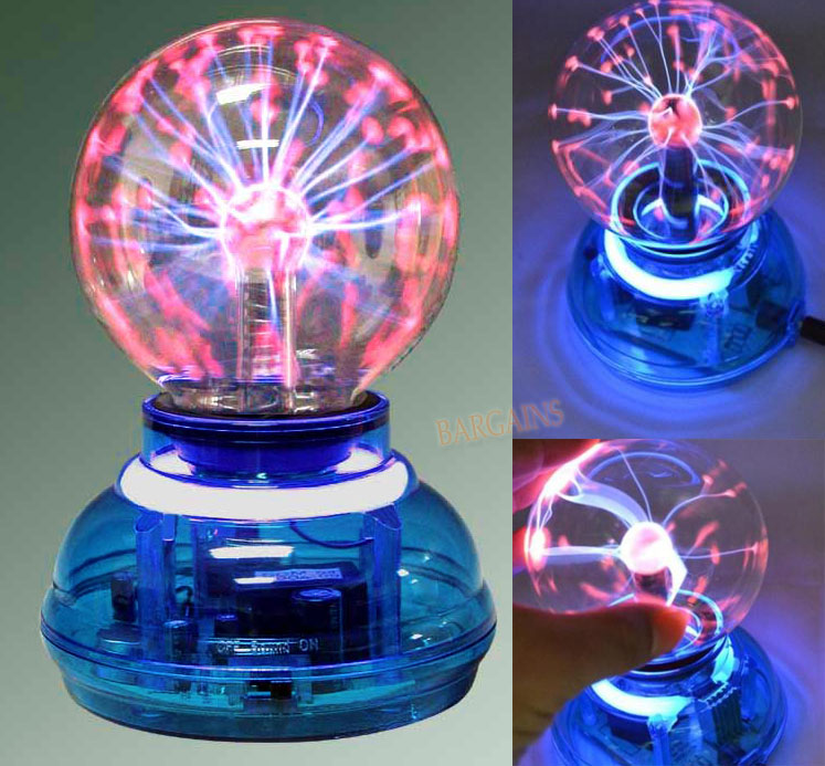 Industrial Light And Magic Near Me: USB Plasma Ball Crystal Neon Ball Home Party Lamp Light