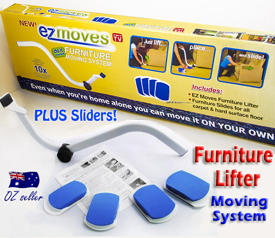 New Furniture Lifter Moves With Ez Mover Sliders Kit Home Moving Lifting System Ebay